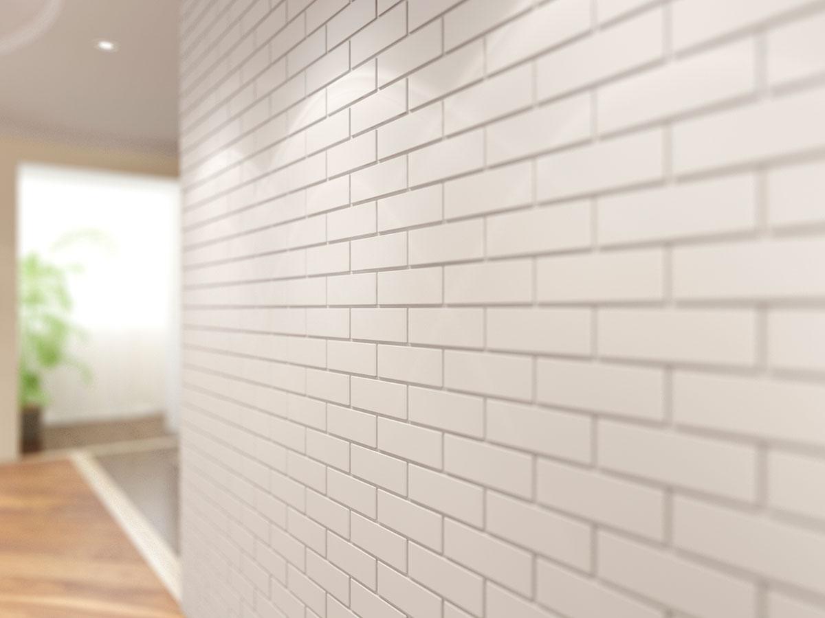 декоративная стеновая панель кирпич